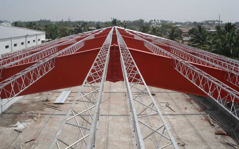 Pre Engineered Metal Building Structure Manufacturer Tirupur